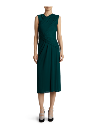 Jersey Crepe Sheath Dress