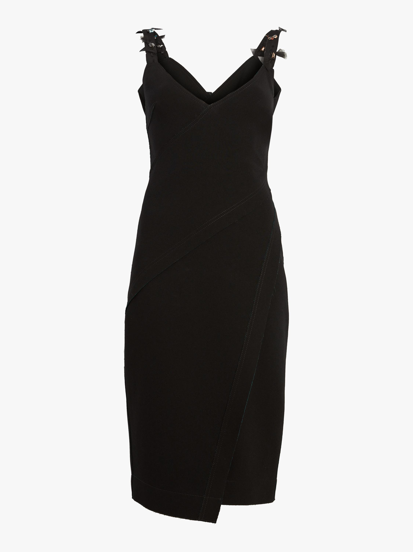 Compact Crepe Dress