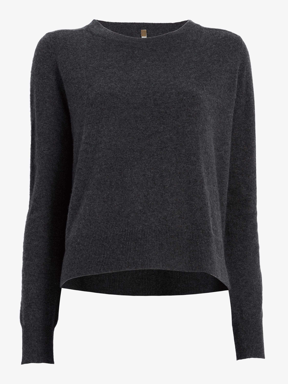 Bridget Cashmere Cropped Pullover