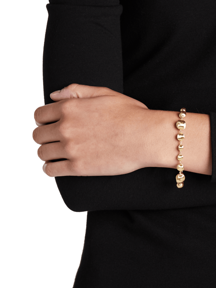Africa Gold Mixed Bead Bracelet Marco Bicego
