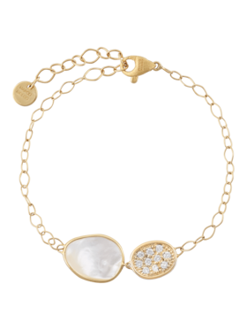Lunaria Mother Of Pearl Bracelet