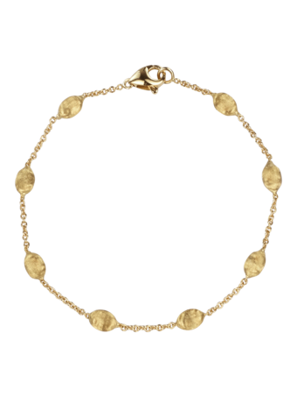 Siviglia Gold Bead Bracelet