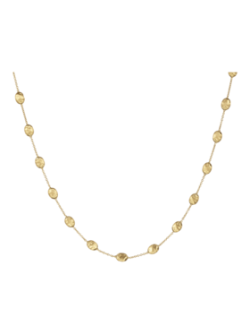 Siviglia Gold Bead Necklace