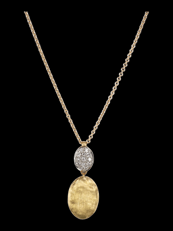 Diamond Pavé Pendant Necklace
