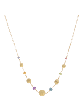 Africa Gemstone Necklace
