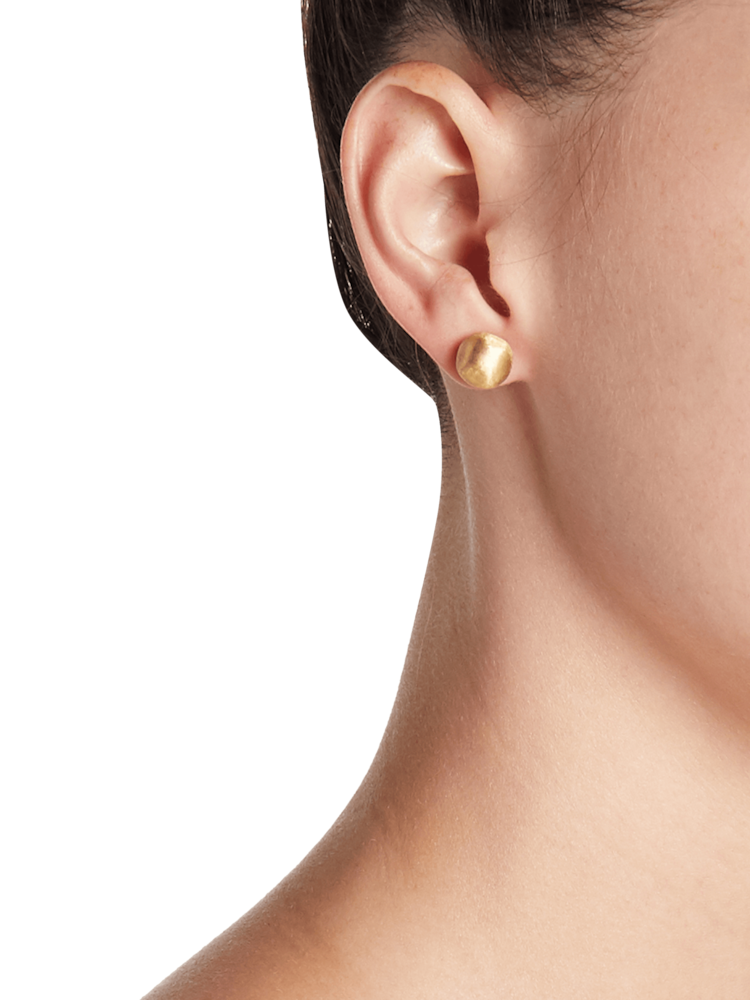 Africa Gold Small Stud Earrings Marco Bicego
