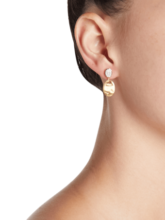 Diamond Pavé Drop Earrings