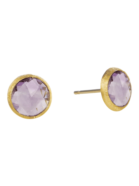 Amethyst Petite Stud Earrings