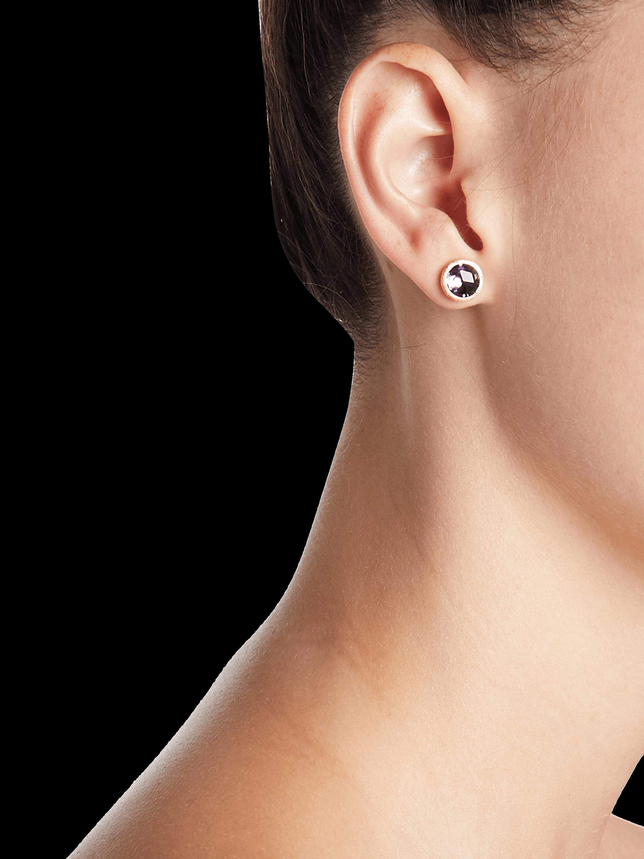 Amethyst Petite Stud Earrings