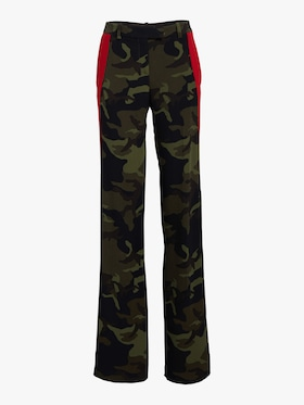 Crimson Stripe Track Trousers