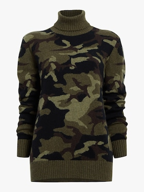 Camo Turtleneck