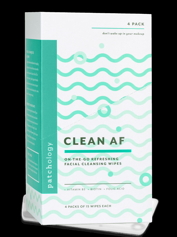 Clean AF Cleansing Facial Wipes