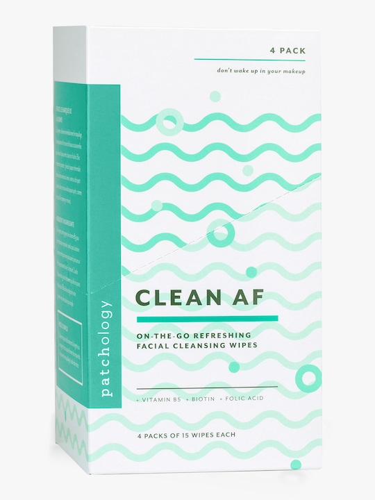 Patchology Clean AF Cleansing Facial Wipes 1