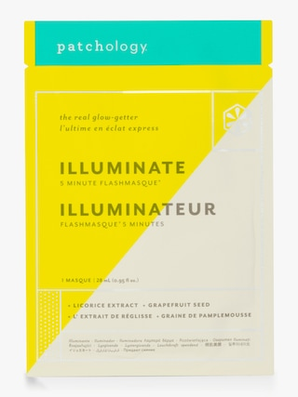 Patchology FlashMasque Illuminate 5 Minute Sheet Mask 1
