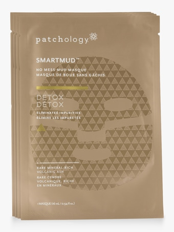 Patchology SmartMud No Mess Mud Masques: Detox Sheet Masks 1