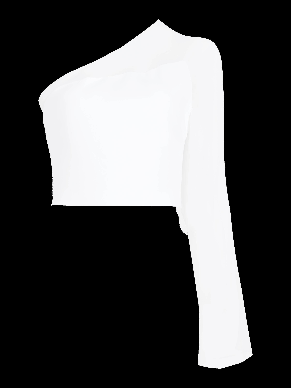 Chiffon Bell Sleeve Top