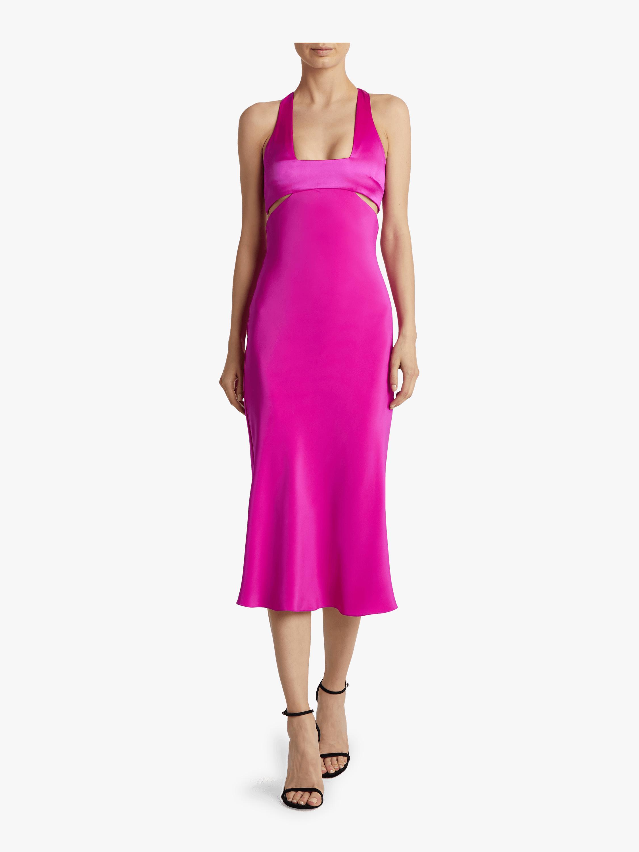 Sleeveless Midi Flare Dress