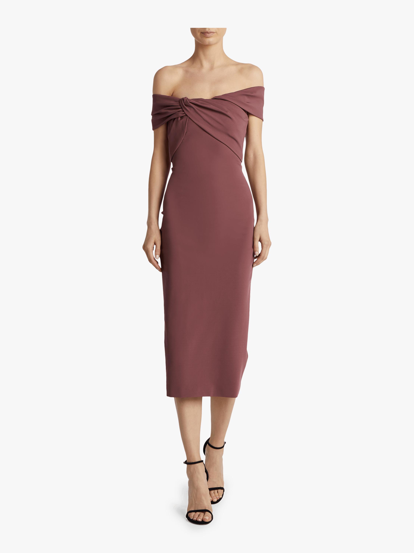 Off the Shoulder Pencil Dress
