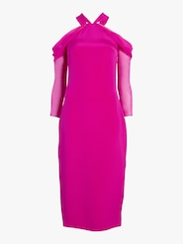 Halter Neck Pencil Dress