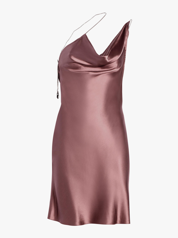 Asymmetrical Sleeveless Mini Dress
