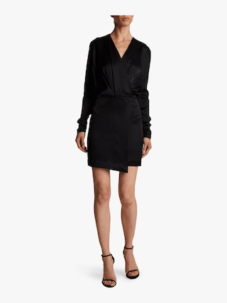 Blouson Top Mini Dress