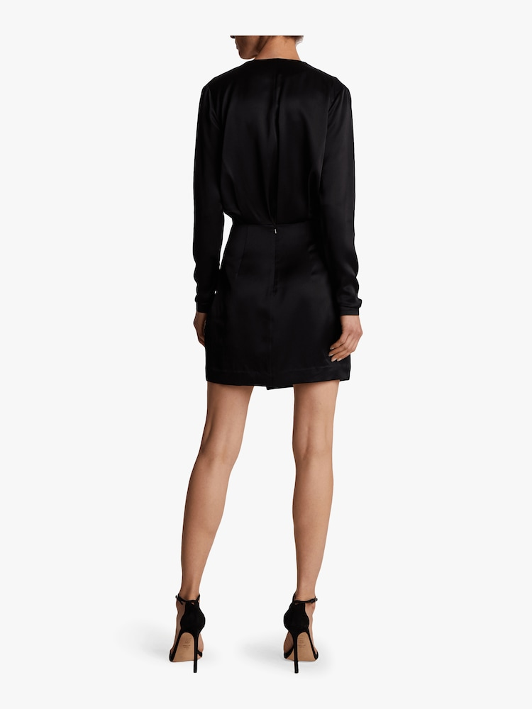 Blouson Top Mini Dress Cushnie