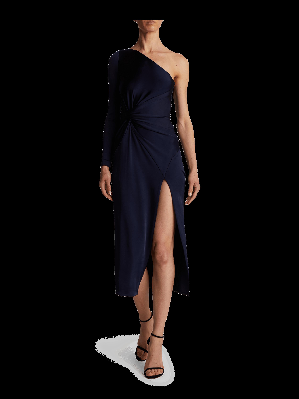One Shoulder Twist Dress