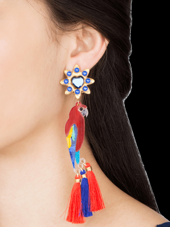Queen Guacamaya Earrings