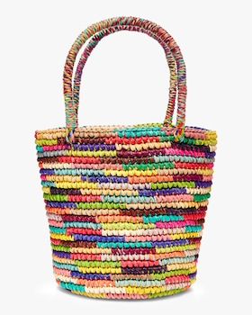 Baby Tote Woven Straw Bag