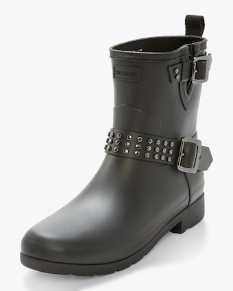 Refined Stud Biker Boot