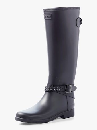 Refined Adjustable Stud Tall Boot