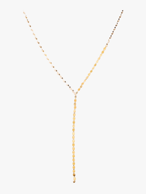 Nude Lariat Necklace