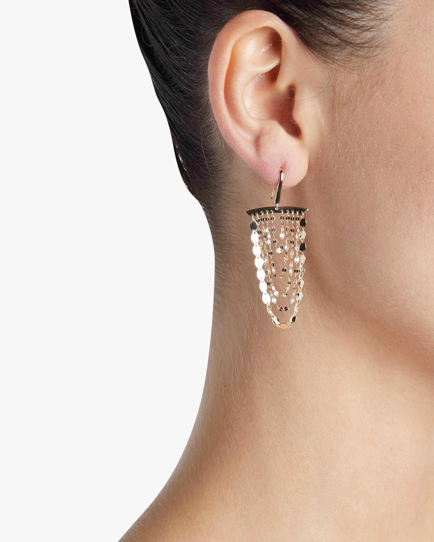 Small Nude Cascade Earrings Lana Jewelry