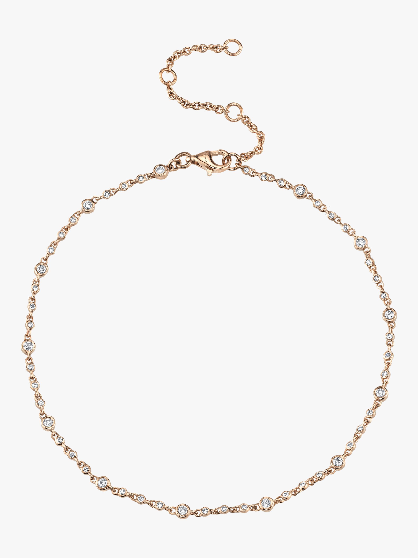 Diamond Infinity Anklet