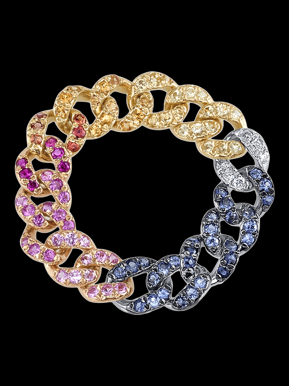 Rainbow Link Ring