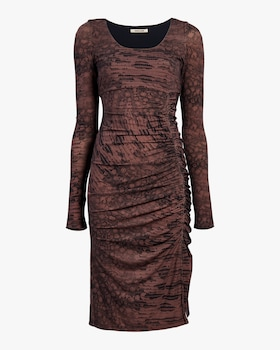 Leopard Sheath Dress