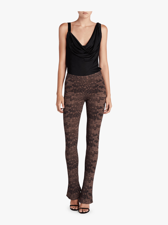 Split Seam Slim Trousers