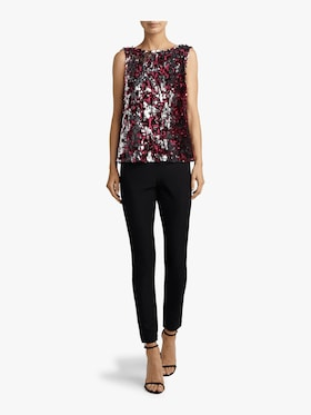 Two Tone Sequin Gabby Top