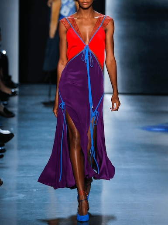 Rajita Lace Insert Dress