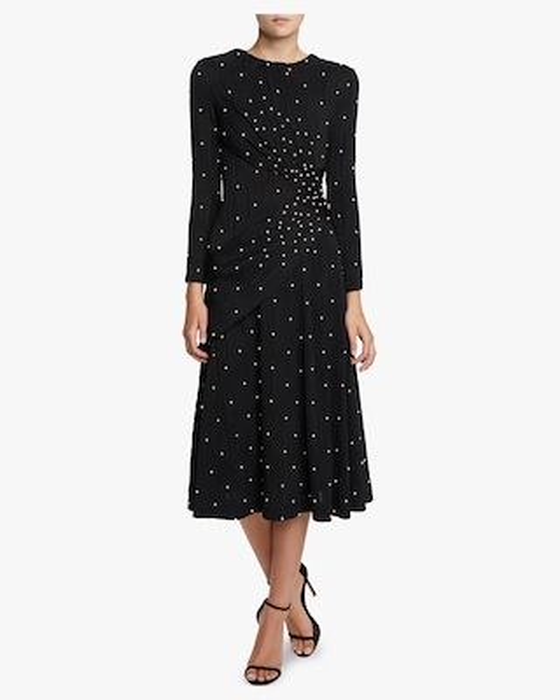 Lugu Long Sleeve Sash Dress