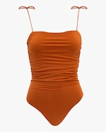 Sara Cristina Sand One-Piece Swimsuit 0