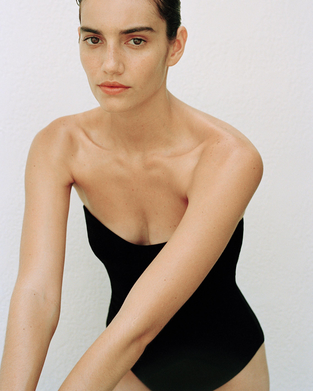 Sara Cristina Heart One-Piece Swimsuit 1
