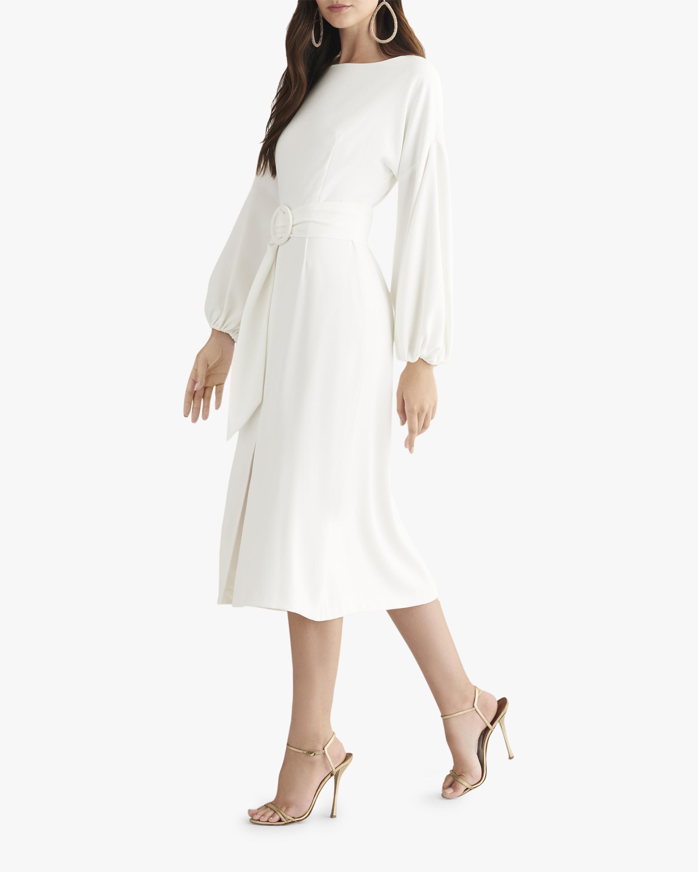 Sachin and Babi Ivory Annie Dress 1
