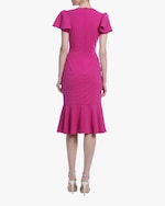 Badgley Mischka Flouncy Day Dress 2