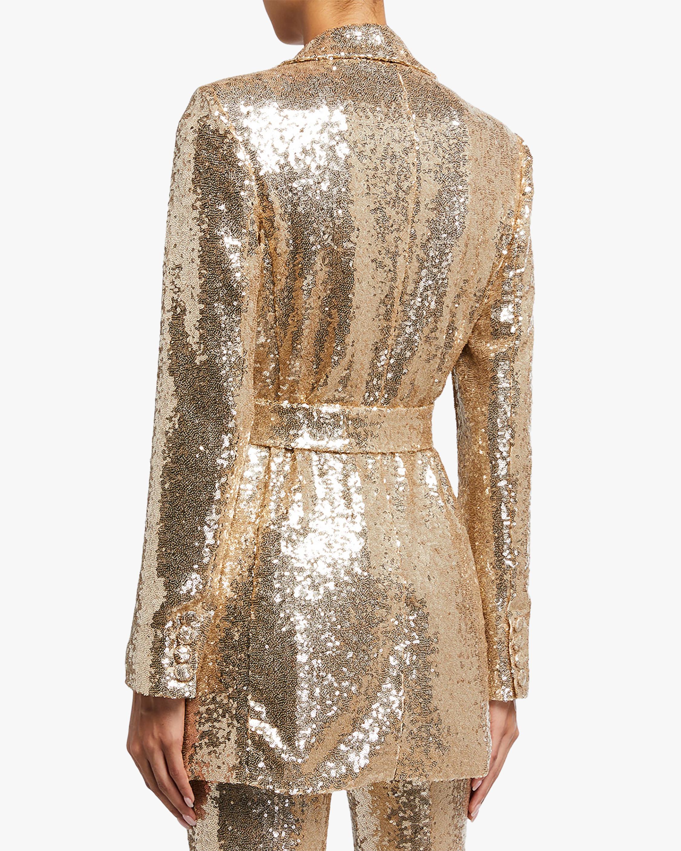 Badgley Mischka Sequin Blazer 2