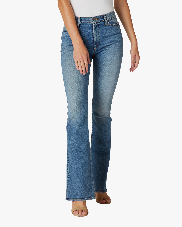 Hudson Barbara High-Rise Bootcut Jeans 0