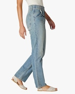 Hudson Pleated Denim Jeans 2