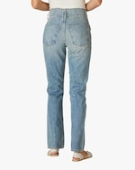 Hudson Pleated Denim Jeans 3