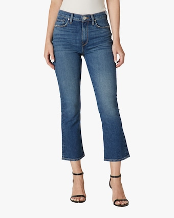 Hudson Holly High-Rise Crop Bootcut Jeans 1