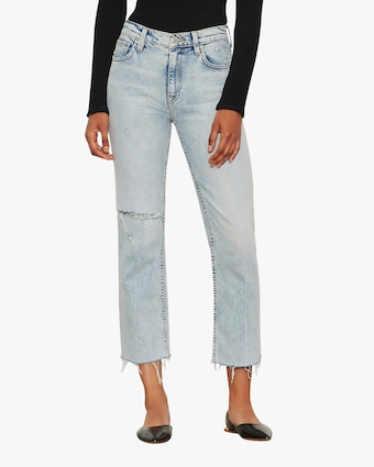 Hudson Remi High-Rise Straight Crop Jeans 1